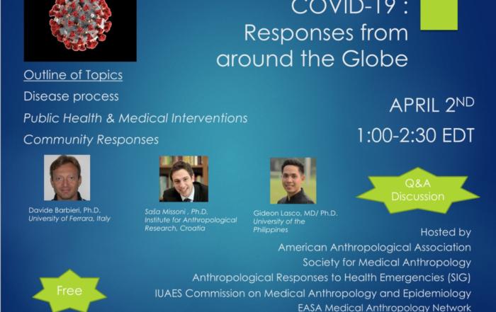 Poster za diskusiju o COVID-19