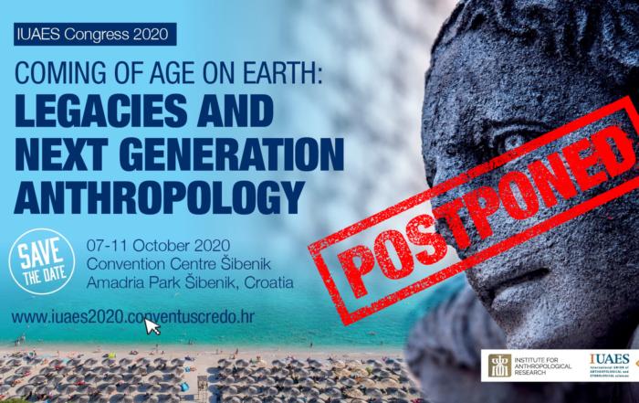 Plakat za kongres IUAES 2020.